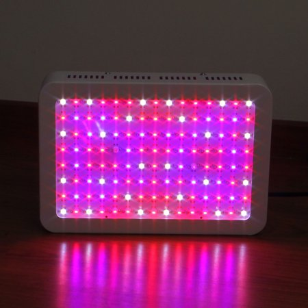Ktaxon 1200w Double Chips Full Specturm Led Grow Light for Greenhouse and Indoor Plant Flowering Growing (10w Leds) - image 2 of 7