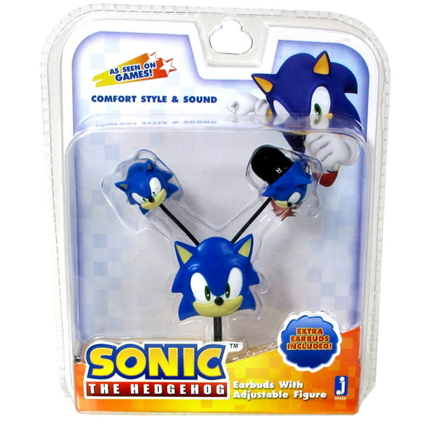 Sonic The Hedgehog Earbuds Walmart Com Walmart Com