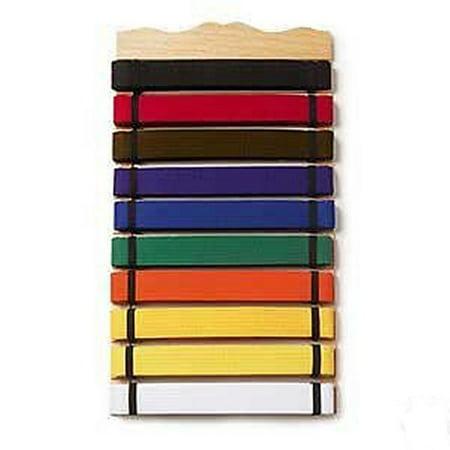 Martial Arts Karate belt display rack Holder