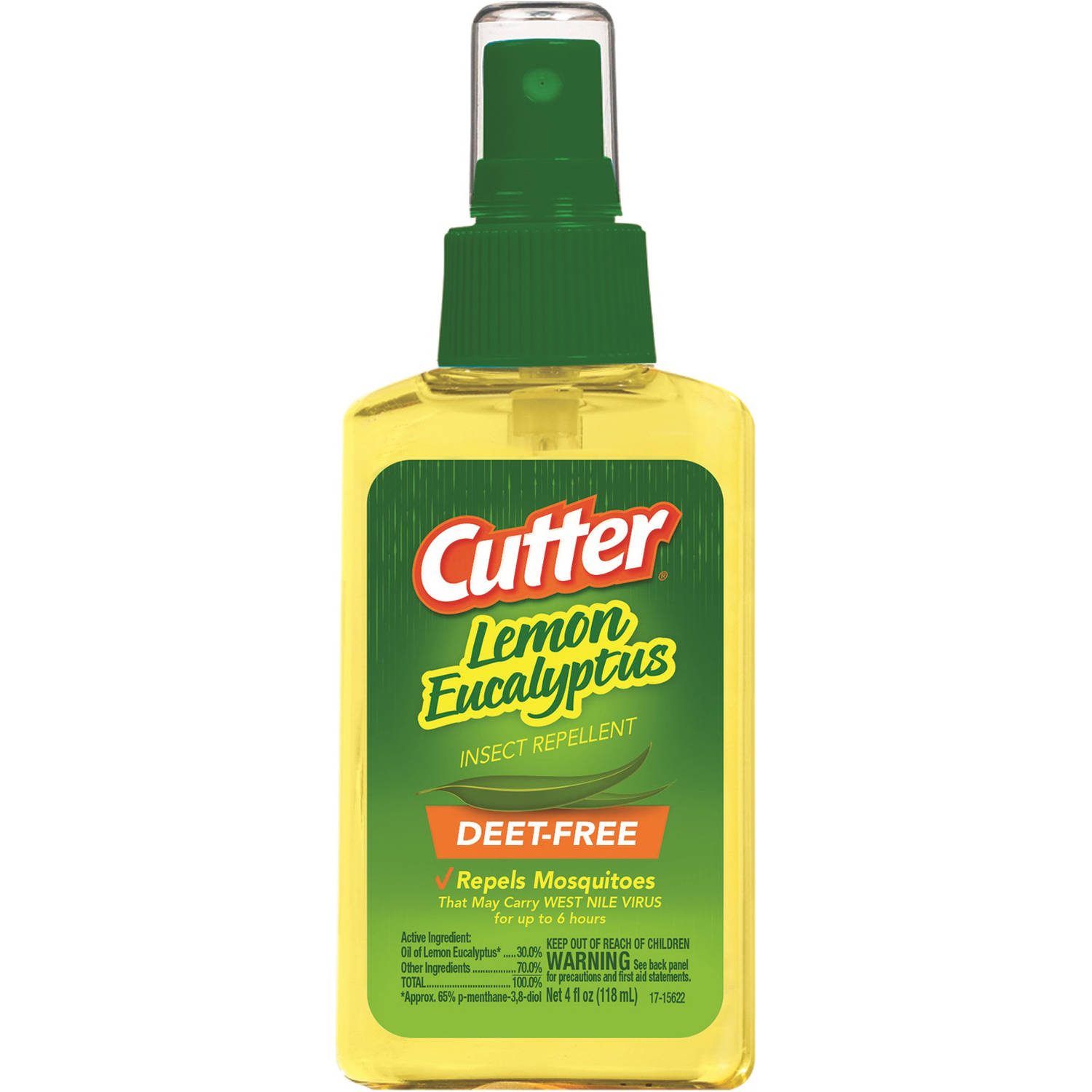Cutter Lemon Eucalyptus Pump Spray