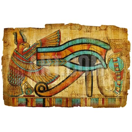 Ancient Egyptian Papyrus Print Wall Art By -