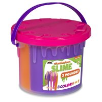 Nickelodeon Tri-Color Slime Bucket by Cra-Z-Art - Colors May Vary