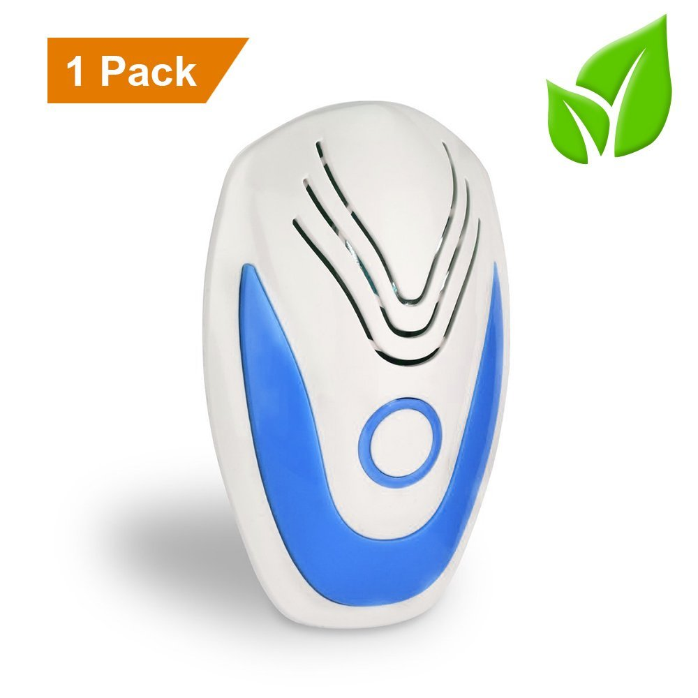 Best Ultrasonic Pest Repeller - Electronic Pest Control Plug In-Pest Repellent for Insects - Roaches , Ants , Bugs , Fleas , Mosquitoes , Spiders , Mice , Rats