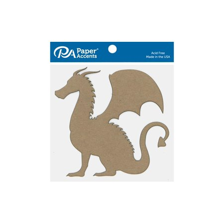 ADPSHAPE 289 CHIP SHAPE 6PC DRAGON NATURAL - image 1 of 1