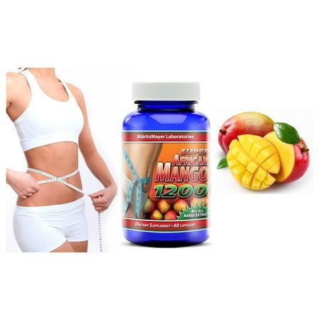 Diet Pill Weight Loss Burn Fat Super African Mango 1200 (African Superman 6 Boxes Of 8 Pills)