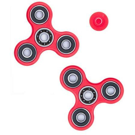 1 Pack Premium Fidget Spinner Anti Stress Toy   Red