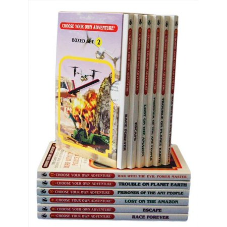 6-Book Box Set, No. 2 Choose Your Own Adventure Classic 7-12: : Box Set Containing: Race Forever Escape Lost on the Amazon Prisoner of the Ant People (Paperback)
