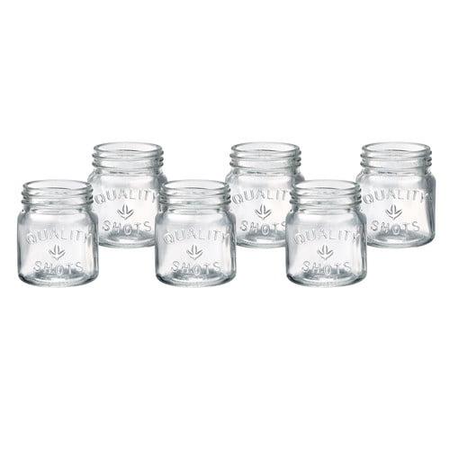 Artland Masonware Shot Glasses (Set of 6) by Artland