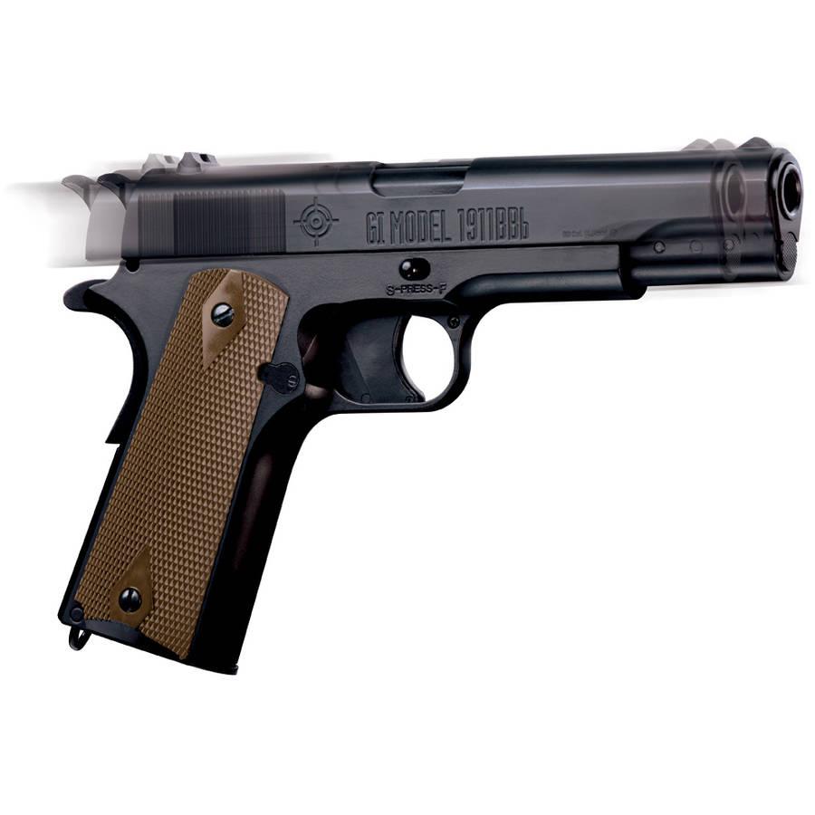 Crosman GI 1911BB Full Metal Blowback .177 Caliber Semi-Auto CO2 Air Pistol, 450fps by Generic