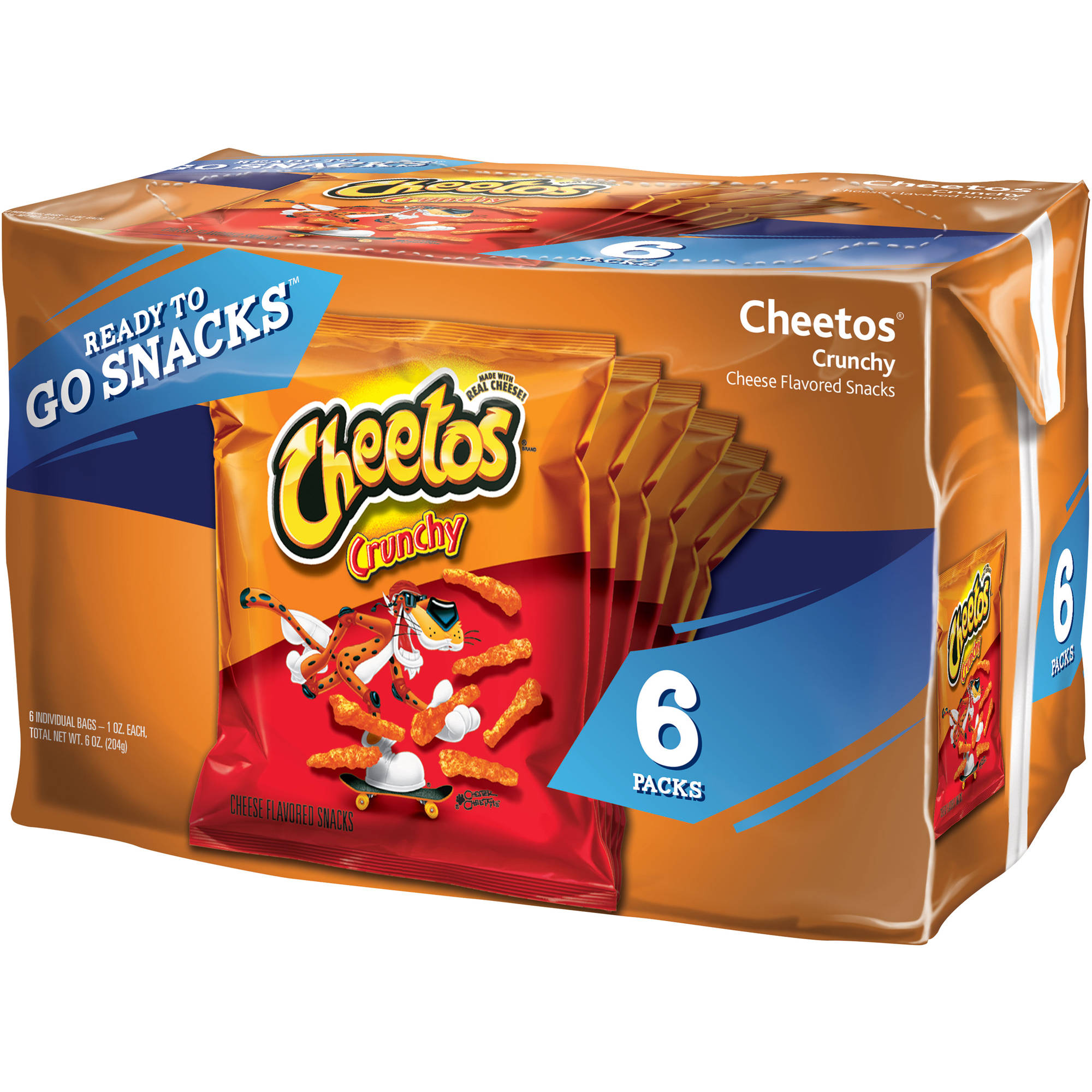Cheetos Singles Cheese Flavored Snacks, 6 ct.