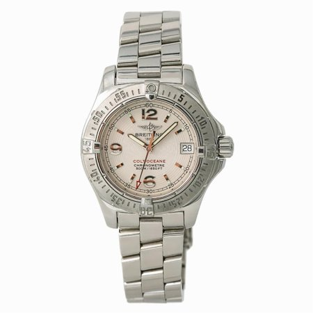 Pre-Owned Breitling Colt A77380 Steel Women Watch (Certified Authentic & Warranty)