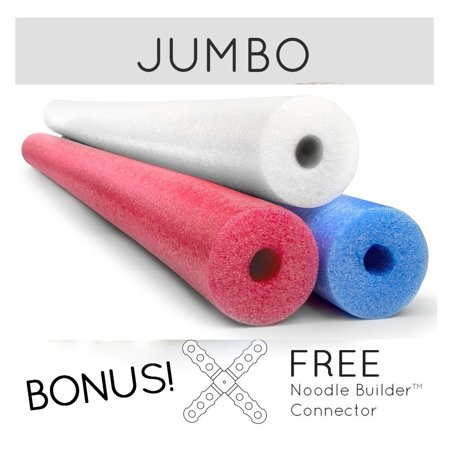 Make America Great Again Jumbo Pool Noodles Free Connector in Red White Blue Made in USA](Pool Noodle Crafts)