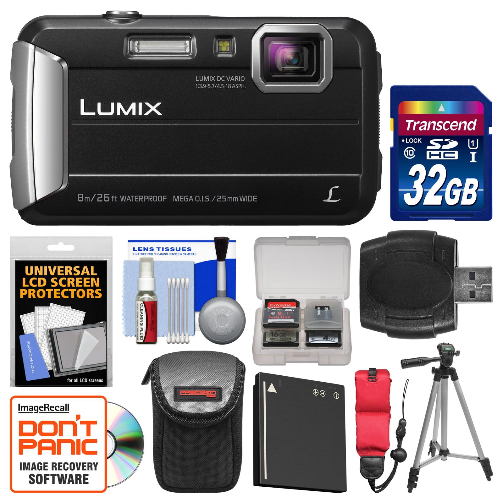 Panasonic Lumix DMC-TS30 Tough Shock & Waterproof Digital...