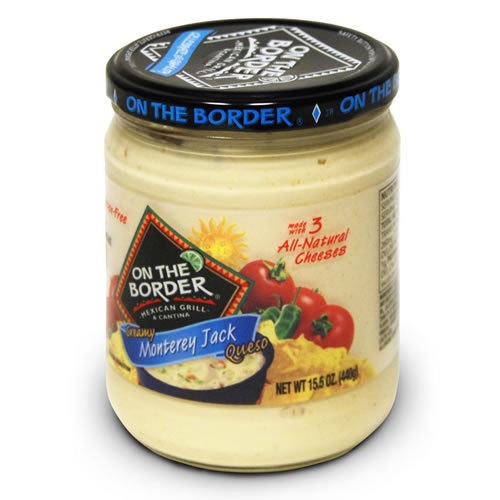 On The Border Mexican Grill & Cantina Creamy Monterey Jack Queso, 15.5 oz