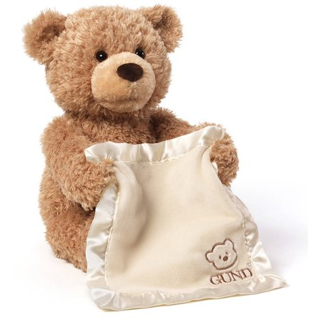 Gund 12  Plush Peek A Boo Bear