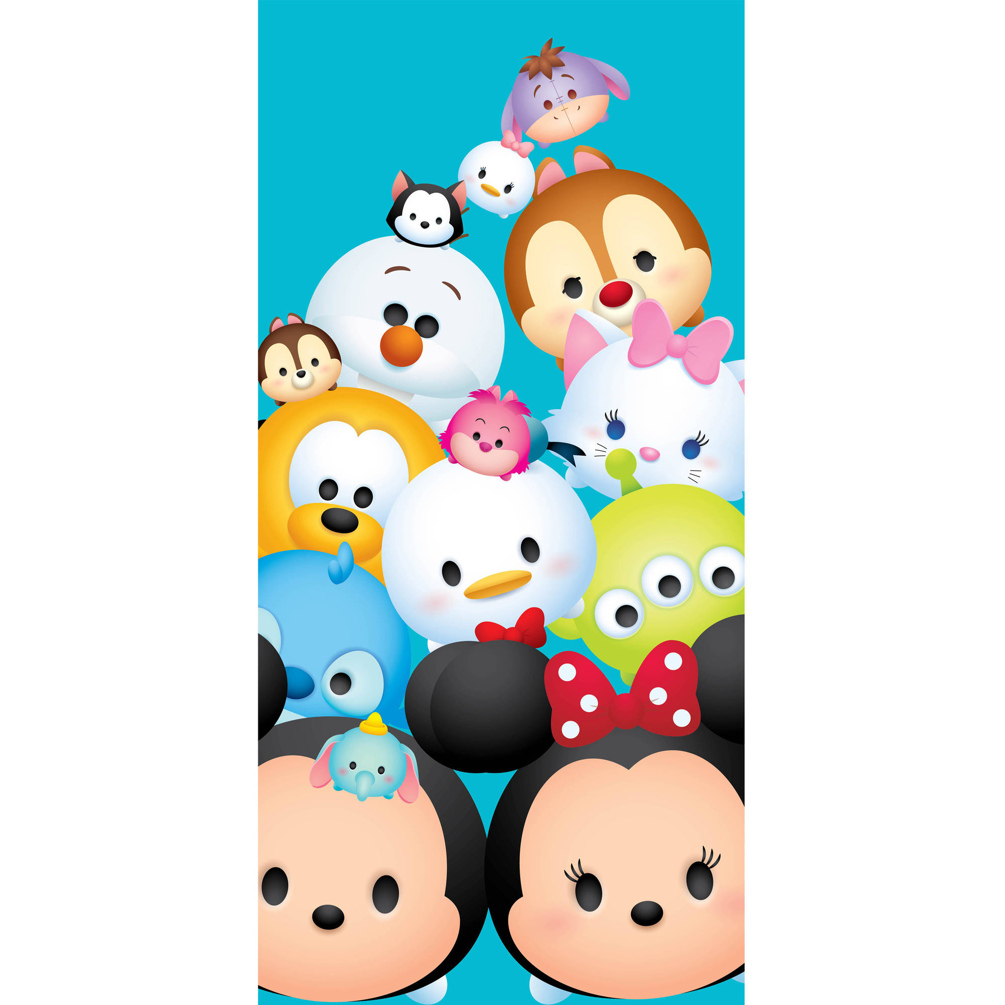 Disney Tsum Tsum Stacks on Stacks Beach Towel