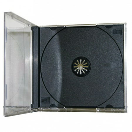 CheckOutStore 100 STANDARD Black CD Jewel Case (Assembled)