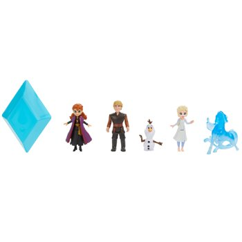 Disney Frozen 2 Peel and Reveal Small Doll Storybook Playset