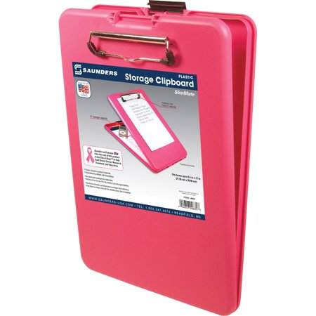 Saunders, SAU00835, SlimMate BCA Storage Clipboard, 1 Each, - Folding Chipboard