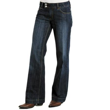 Stetson Western Denim Jeans Womens Trouser Royal 11-054-0202-0030 BU
