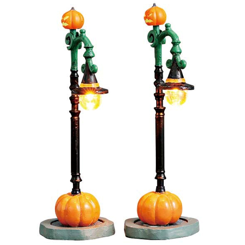 Witch Pumpkin Patch Lamps
