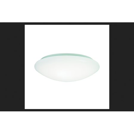 Metalux AP Series White Flush Mount Ceiling Fixture 4-13/16 in. H x 15 in. W