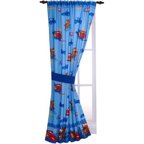 Disney Cars Boys Bedroom Curtain Panel