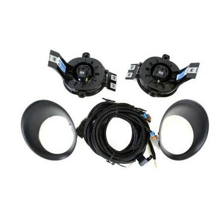 Factory New Mopar Part # 82208102-AC Fog Light Lamp Kit for Dodge Ram Trucks 2002-2010 ()