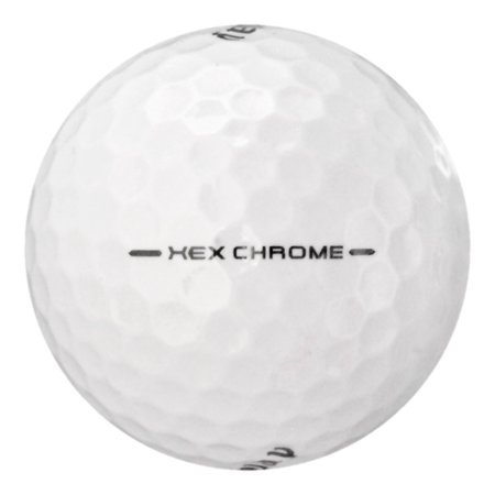 Callaway HEX Chrome - Near Mint (AAAA) Grade - Recycled (Used) Golf Balls - 12 Pack