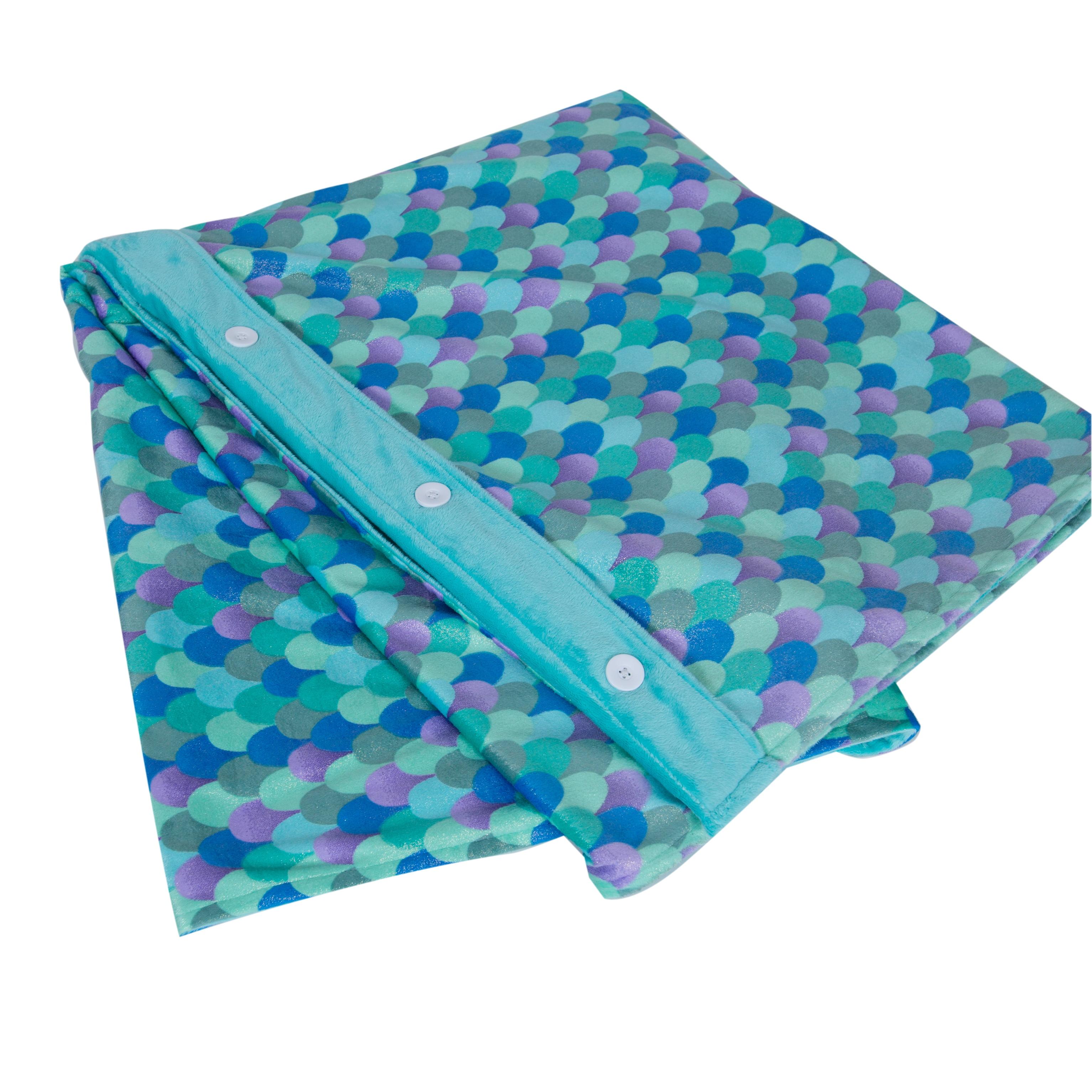 Poly Fil 6 Pound Weighted Blanket Insert Just Add Fabric 36 X 48 Walmart Com Walmart Com