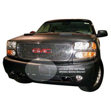 LeBra Front End Mask Cover-55828-01 fits GMC Yukon Denali 2001,2002,2003,2004,2005,2006 (Over (Gmc Front Bumper)