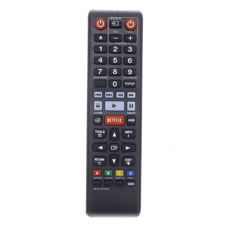 Replacement TV Remote Control for Samsung BDFM59C Television - image 2 of 2