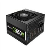 Corsair Cs Series Modular Cs650m - 650 Watt 80 Plus Gold Certified Psu - 92% Efficiency - 650 W - In