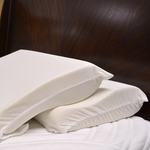Integrity Bedding  Soft Ergonomic Contour Memory Foam Pillow (Set of 2)