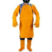 Trades Pro 240260 Trades Pro 240260 Trades Pro Leather Heat & Flame-Resistant Protective Welder Welding Suit