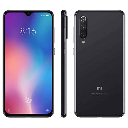Xiaomi Mi 9 SE Unlocked 6GB/128GB Dual Sim 4G LTE Phone International Global Version - Piano Black (Xiaomi Mi Note 4g)