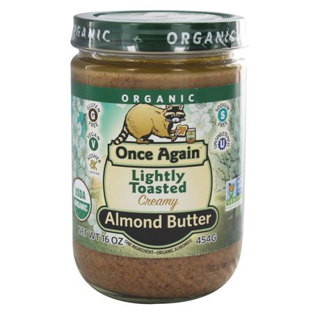 - Once Again - Organic Lightly Toasted Almond Butter Creamy - 16 oz(pack of 6)