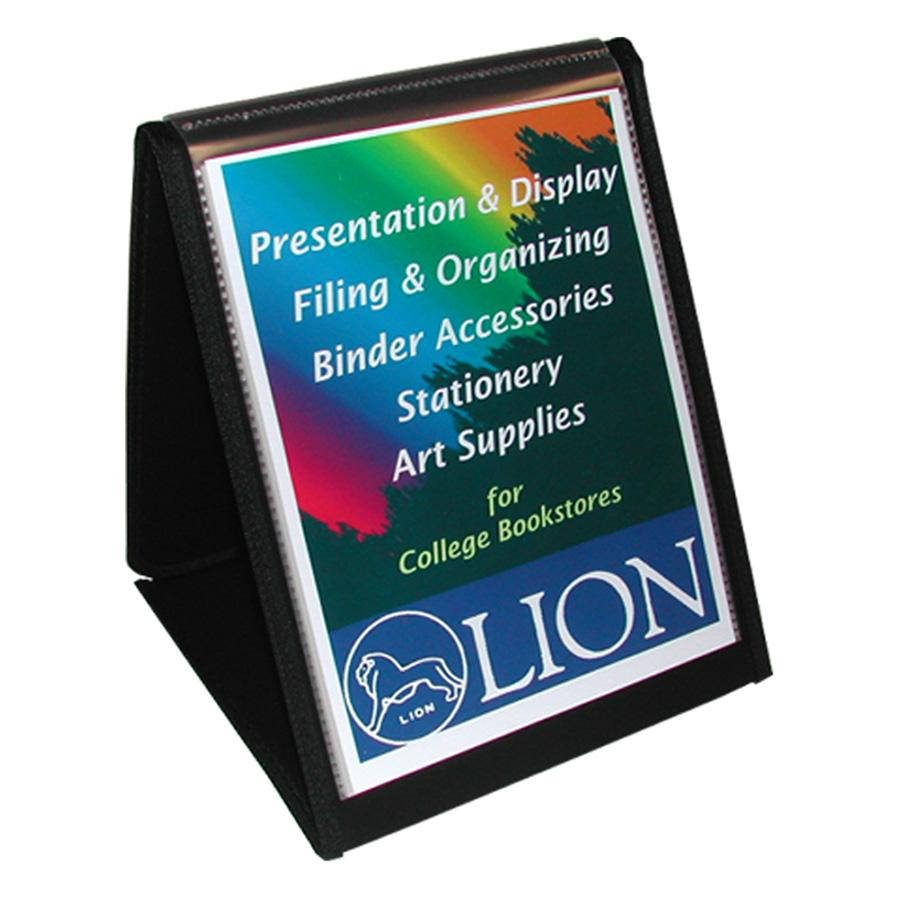 Lion, LIO39009, Flip-N-Tell Display Easel Books, 1 Each, Black