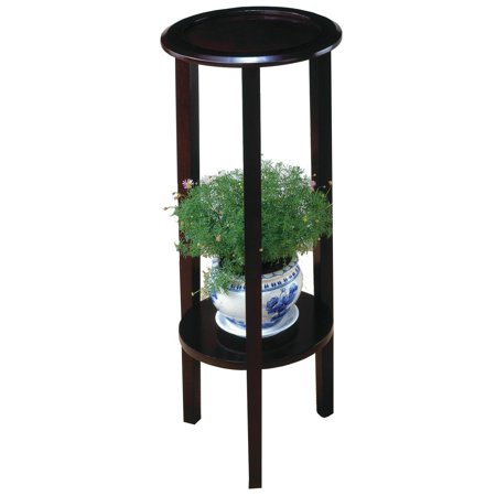 Coaster 900936 Plant Stand With Round Top, Cappuccino, Contemporary style By Coaster Home Furnishings (Cappuccino Plant Stand)