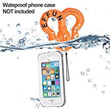 Waterproof Inflatable Camera/Phone Float Strap (2-Pack), EFFUN Waterproof Inflatable Float Strap for Underwater Camera,Phone and - Inflatable Camera