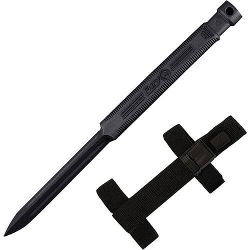 Fury 16903 3-Angle Non-Metallic Fixed Blade Knife with Covert Sheath