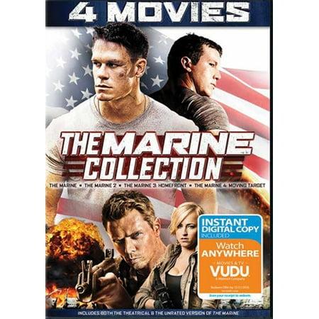 Twentieth Century Fx Marine 1 -4 Quad Feature Dvd+dc Qf Ws