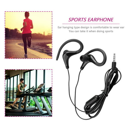 Ear Hook Sports Running Headphones KY-010 Running Stereo Bass Music Headset - image 2 of 5