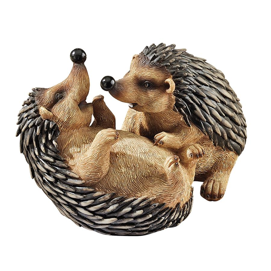 Hyper Hedgehogs Garden Statue by Design Toscano