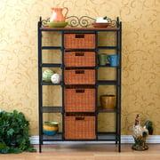 Large Celtic Kitchen Storage Unit with Baskets