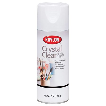 Crystal Clear Acrylic Coating Aerosol Spray - Acrylic Coating Aerosol Spray