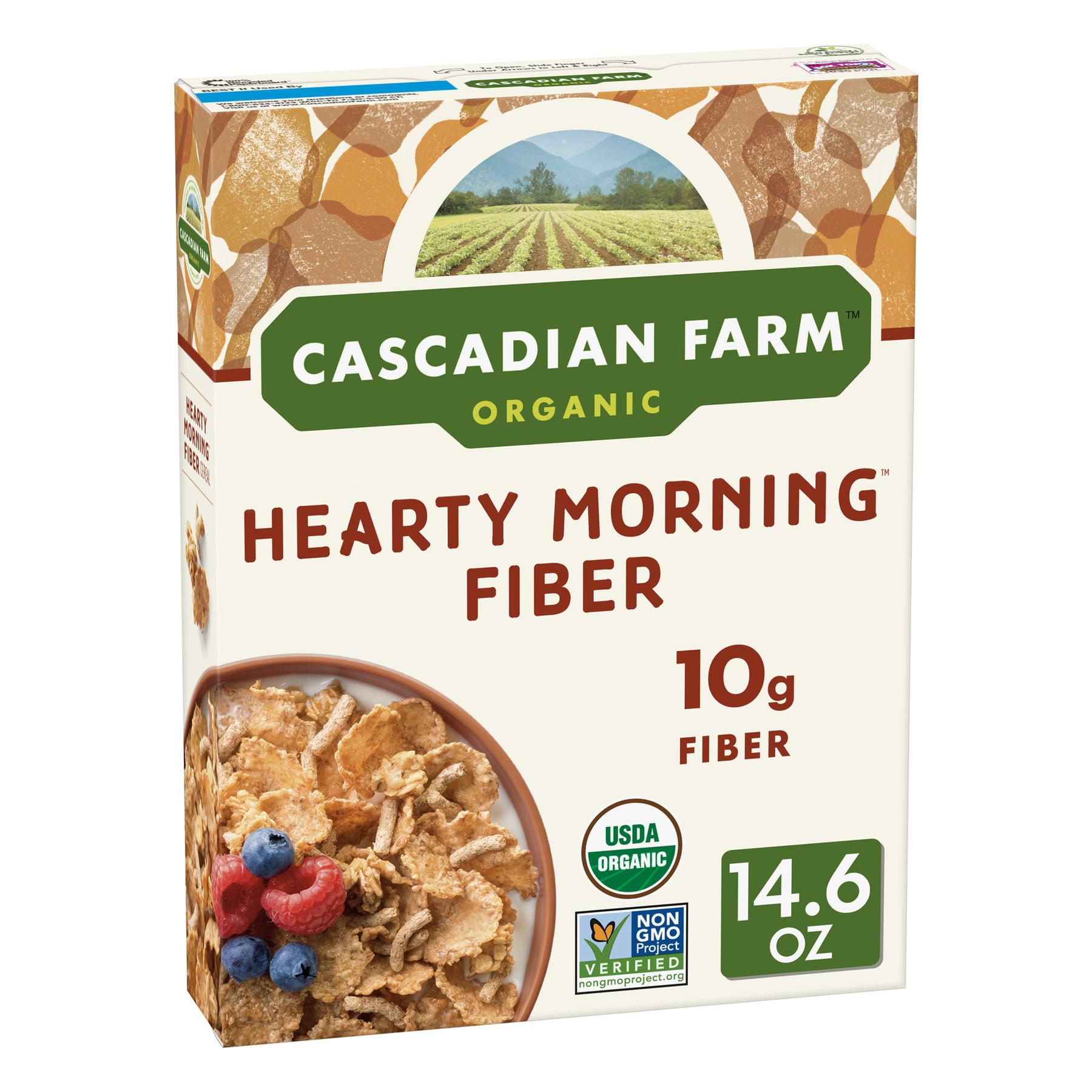 Cascadian Farm Organic Morning Fiber Cereal, 14.6 Oz