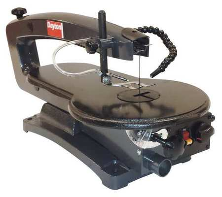 Variable Speed Scroll Saw, Dayton, 38UK51 by DAYTON