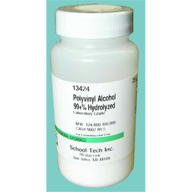 Olympia Sports 13424 Polyvinyl Alcohol - for making slime  lab grade - 25g