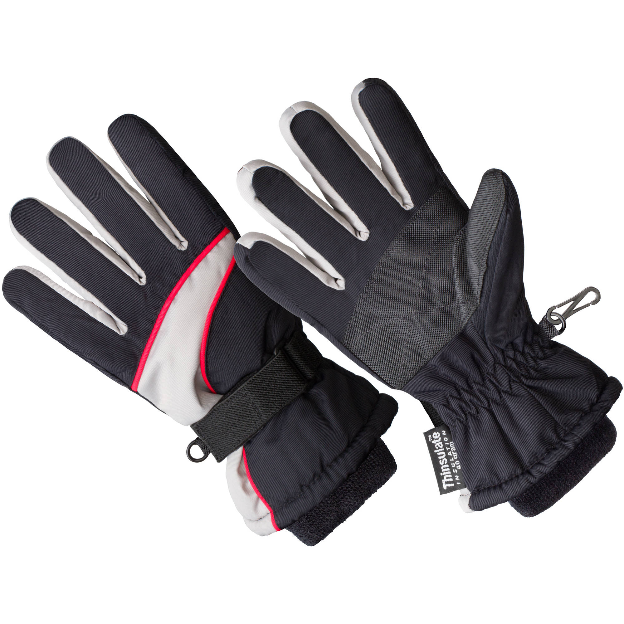 Hands On Boys Premium Ski Glove  Thinsulate Lined